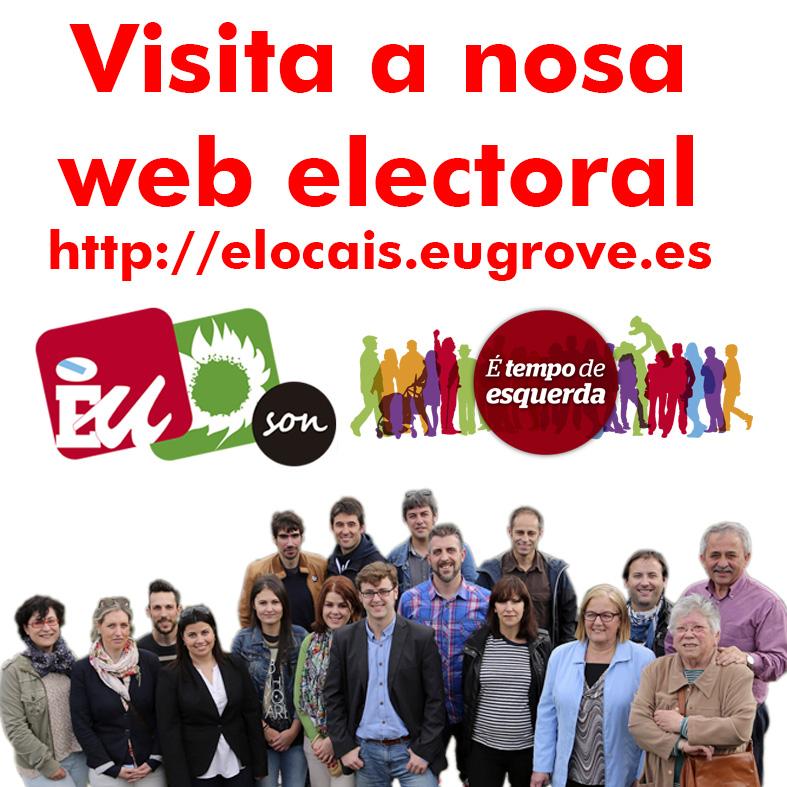 WEB ELECCIÓNS LOCAIS 2015