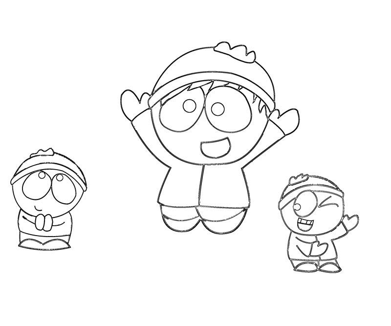 cartman south park coloring pages - photo#43