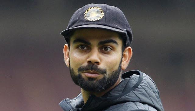 Indian Test skipper Virat Kohli
