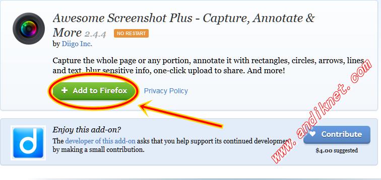 Cara Mengambil ScreenShot Full Page Di Komputer/Laptop
