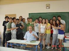 Με τους Μαθητές μου!