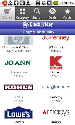 Black Friday App for Android
