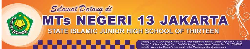 MTs Negeri 13 Jakarta