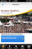 Ansicht Dresdner Stadtfest