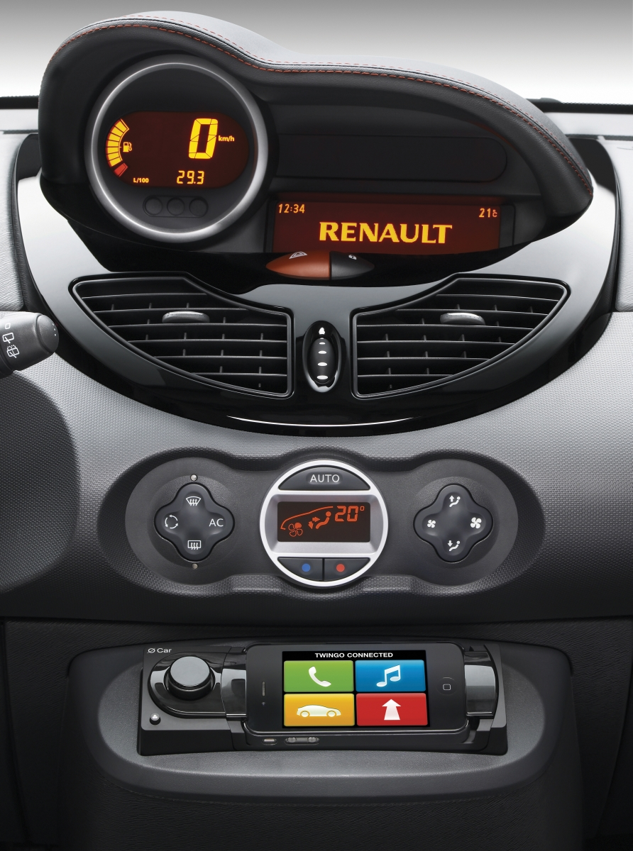 cockpit autom vel conte dos auto apresenta o renault twingo my 2012. Black Bedroom Furniture Sets. Home Design Ideas