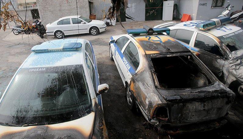 Δημοκρατική Ελλάδα 25 Μαρτίου 2018 – Οι συμμορίτες έκαψαν περιπολικά! καμιά προσαγωγή- σύλληψη!