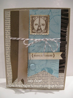 Postage Due Card by Ida Chan, Stampin' Up!