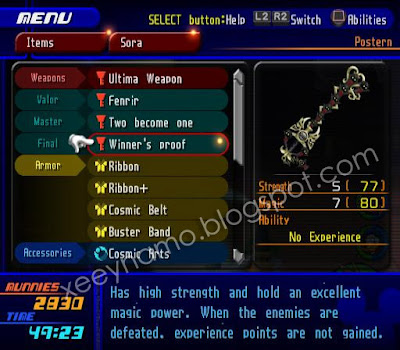 how to get ultima weapon in kh2