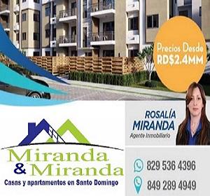 ¿Que aún no tienes tu Casa o Apartamento en Santo Domingo? llama ahora y aprovecha los precios