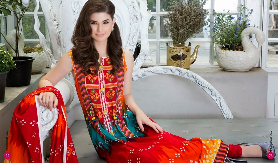Firdous summer lawn collection for women