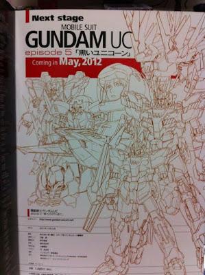 Kidou Senshi Gundam Unicorn Kuroi Unicorn Black Unicorn OVA 5 mayo 2012