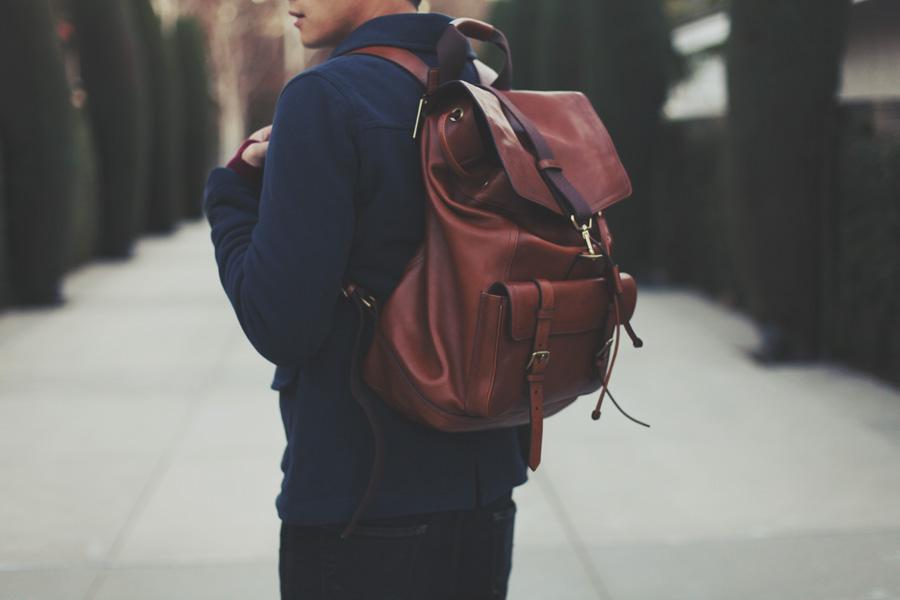 Coach Leather Backpack – TrendBackpack