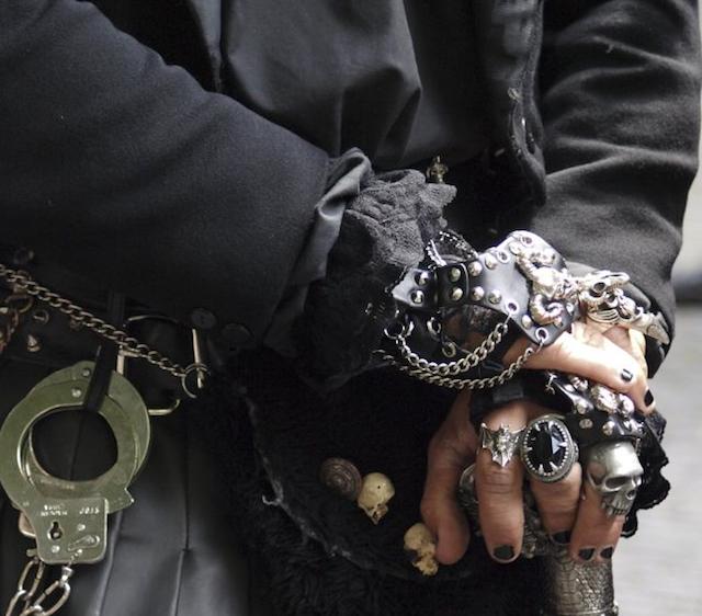 gothic jewelry set