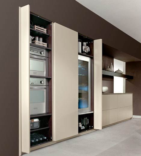 Cooking design art armarios empotrados vestidores o for Cocina moderna tipo buffet