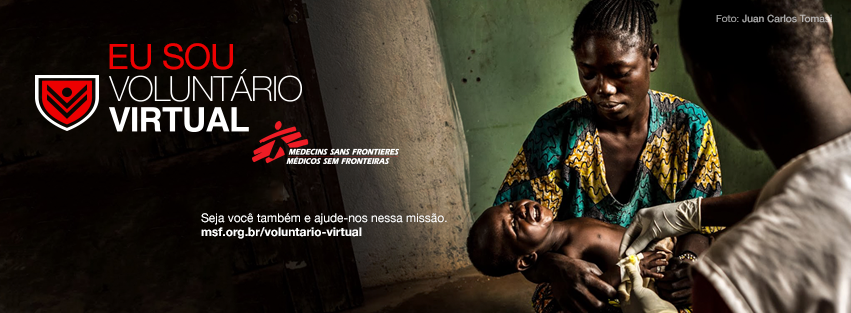 voluntário virtual médicos sem fronteiras clique e acesse! Vamos ajudar!