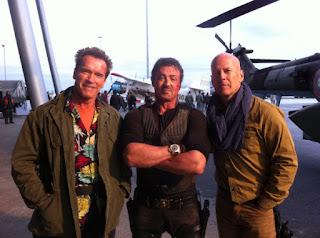 Os Mercenários 2 - Schwarzenegger, Stallone e Bruce Willis
