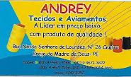 ANDREY TECIDOS E AVIAMENTO