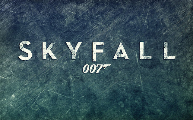 Skyfall PowerPoint background 01