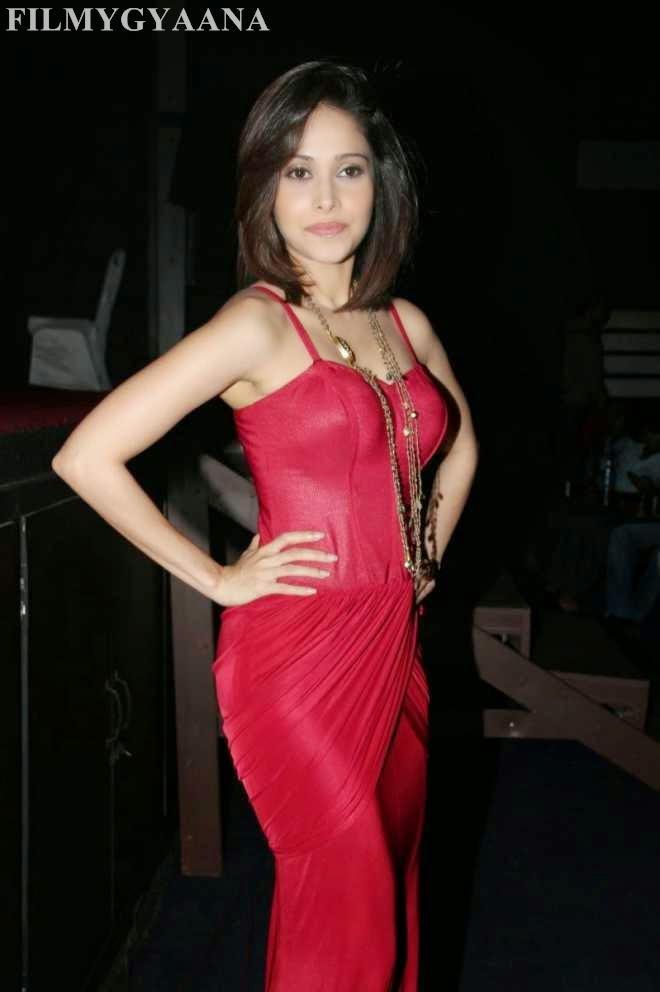 Nushrat Bharucha Looking Hot in Red Gown Photos