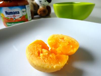 Żółtko w diecie niemowląt