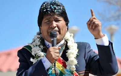 Morales inspeccionó los trabajos en la planta Gran Chaco de Tarija