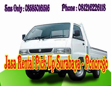 Jasa Rental Pick Up Surabaya - Ponorogo