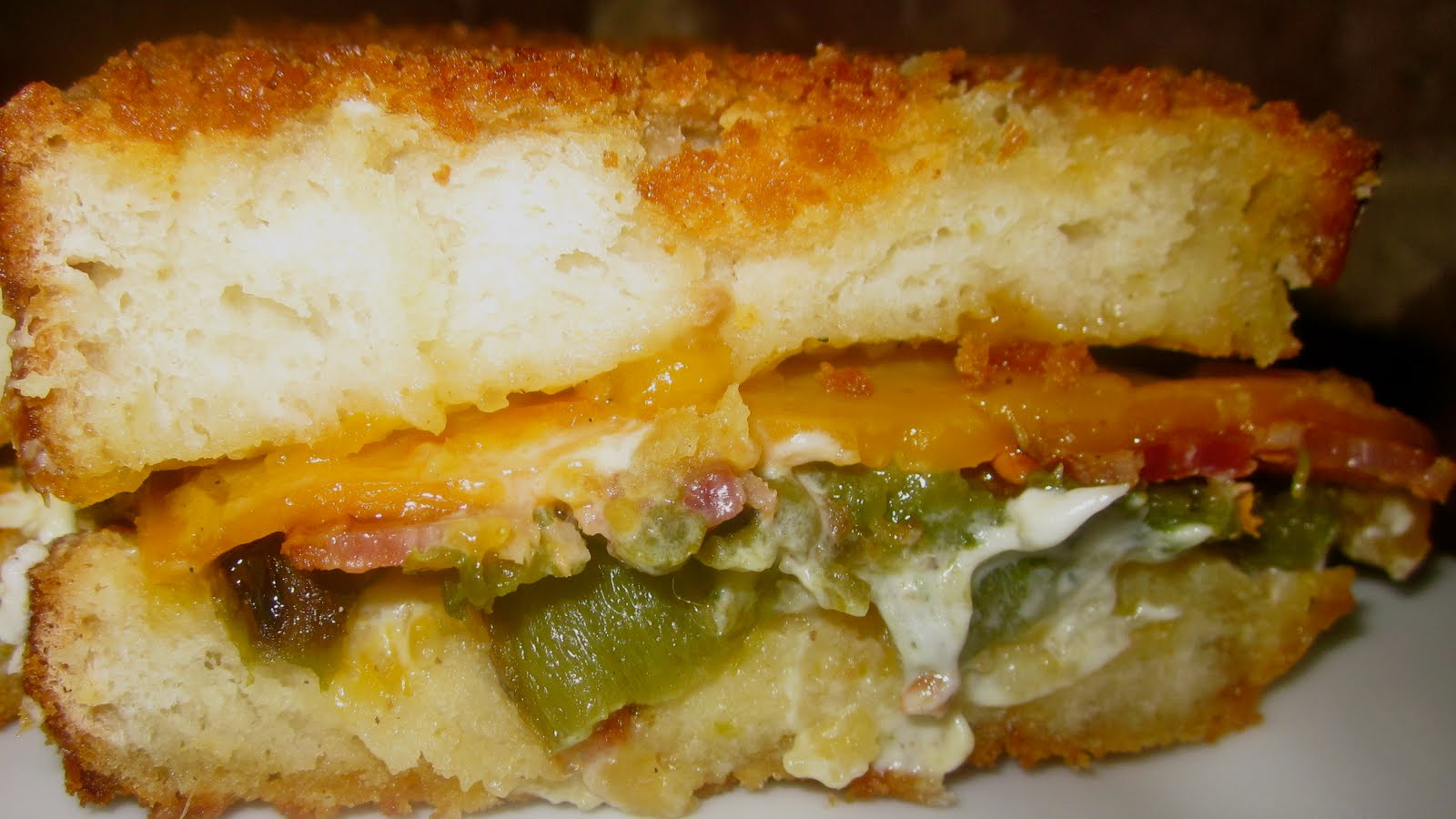 Haute + Heirloom: Jalapeno Popper Sandwich with Sassy Jezebel Sauce