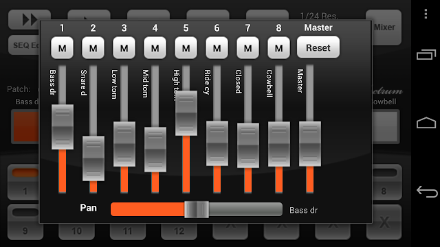 Electrum Drum Machine/Sampler app