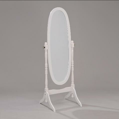 Jade standing mirror for White long standing mirror