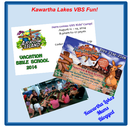 Kawartha Lakes Churches offer free Vacation Bible Schools Here are three How many more can you find?