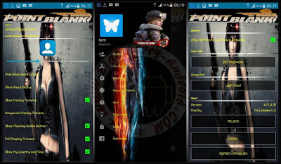 BBM Mod Tema Game Point Blank New Versi 2.11.0.18 Clone