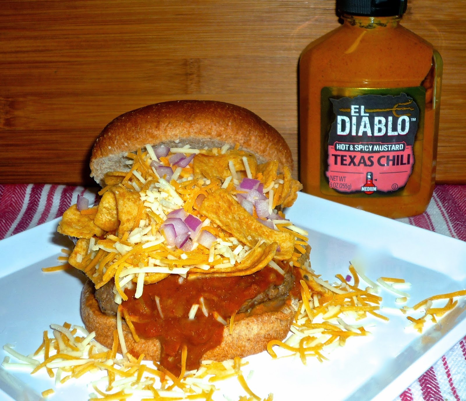 The Weekend Gourmet: Texas Frito Pie Burger...Featuring El ...