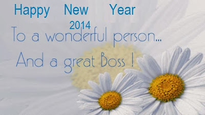 Happy New Year to a wonderful person and a great boss