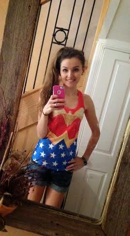 Wonder Woman Singlet