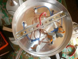 Фазовые и нулевые провода от люстры