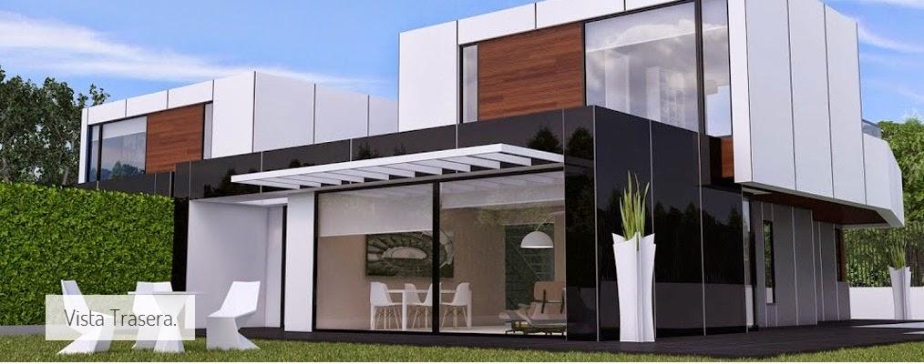 Chalé pareado modular de Resan en el campo de golf de Villamayor