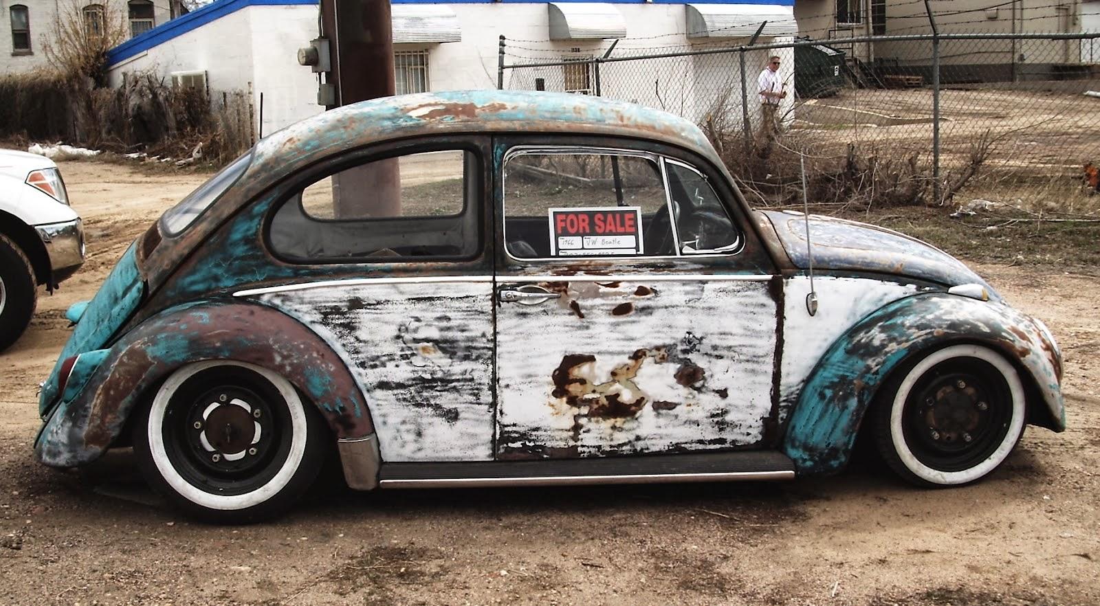 Volkswagen Fusca Rat Look Cm Rebaixados
