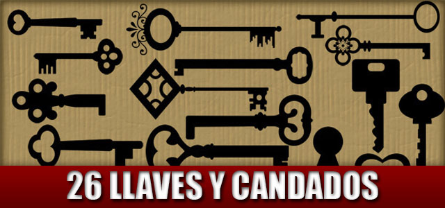 formas o shapes de llaves y candados