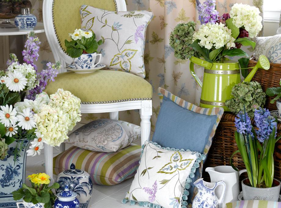 4bildcasa i tessuti di voyage decoration - Lavori da fare a casa ...