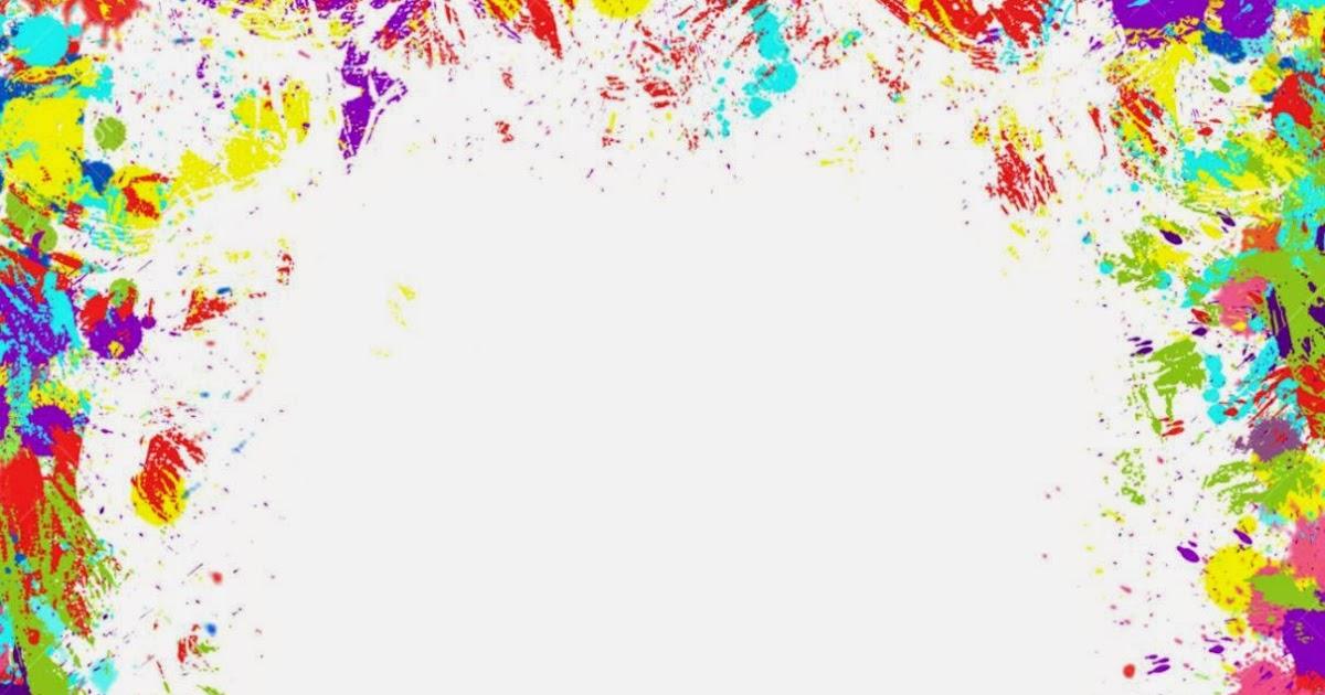 Paint Splat Border