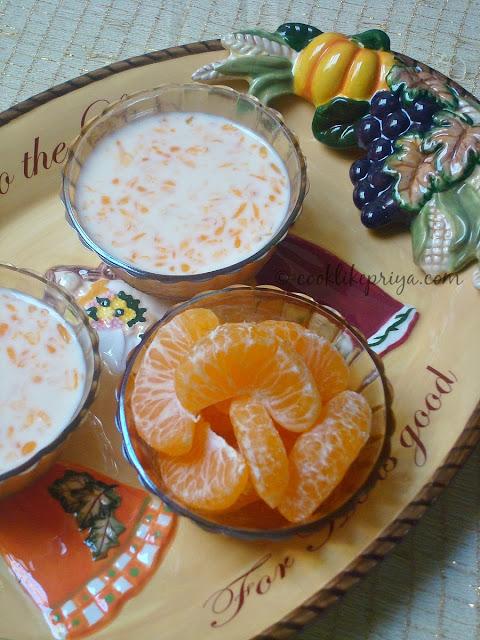 Orange Payasam