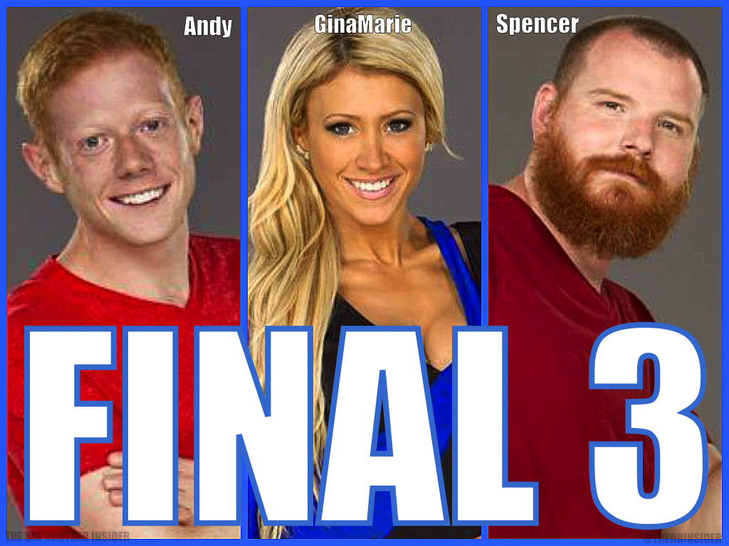 BIG BROTHER 15 FINALE - Winner Prediction