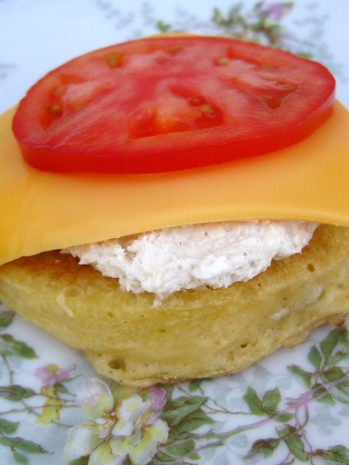 how to make crumpet sandwich