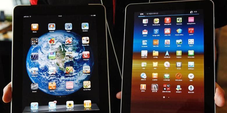 Akhirnya Tablet Android Kalahkan iPad
