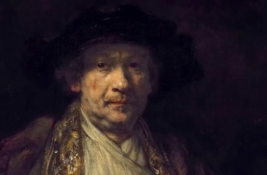Rembrandt, Self Portrait (fragment)