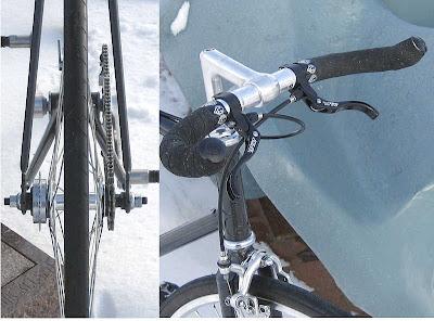 Modifikasi Sepeda Fixie Elegant