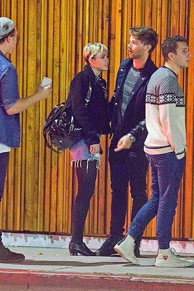 Miley and Patrick