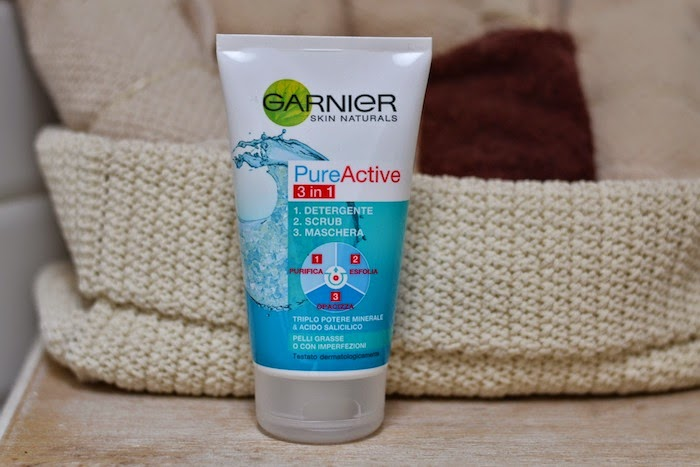garnier pure active 3in1