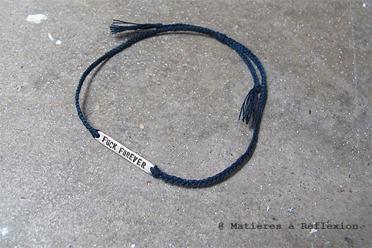 Cooperative de creation bracelet fuck forever