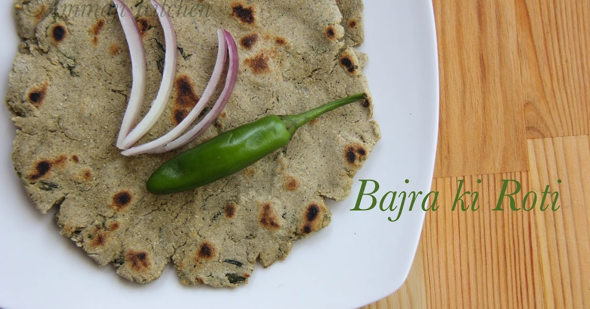 Bajra Ki Roti Sojja Rottelu Indian Food Recipes